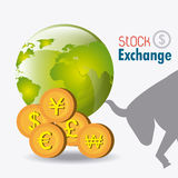 Business stock exchange Royalty Free Stock Photography