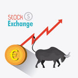 Business stock exchange Royalty Free Stock Photo