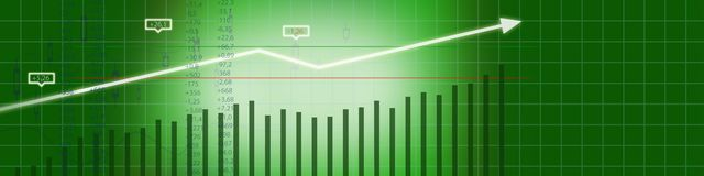 Business stock market background royalty free stock photos
