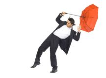 On business storm Stock Photos