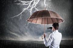 Business storm . Crisis concept Stock Image