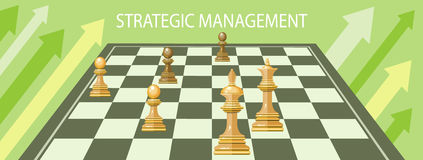Business strategic management Royalty Free Stock Photo