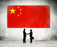 Business strategic planning in China Royalty Free Stock Images