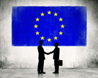 Business strategic planning in European Union Royalty Free Stock Image