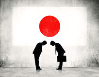 Business strategic planning in Japan Royalty Free Stock Photography