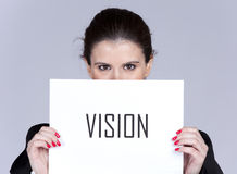Business strategic vision Stock Photography