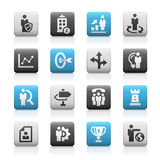 Business Strategies Icons -- Matte Series Royalty Free Stock Image
