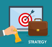 Business strategies and solutions Stock Photography