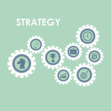 Business strategies and solutions Royalty Free Stock Photos