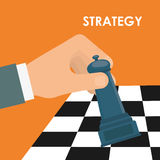 Business strategies and solutions Stock Images