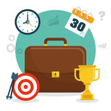 Business strategies and solutions Royalty Free Stock Images