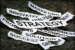 Business strategy Stock Images