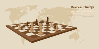 Business strategy banner Royalty Free Stock Images