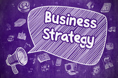 Business Strategy - Business Concept. Royalty Free Stock Image