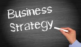Business Strategy Chalkboard Royalty Free Stock Photography