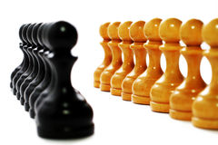 BUSINESS STRATEGY - CHESS Royalty Free Stock Image