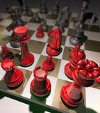 Business Strategy Chess Game Stock Images