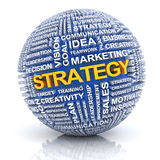 Business strategy concept, 3d render Stock Photos