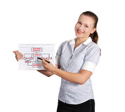 Business strategy concept Stock Image