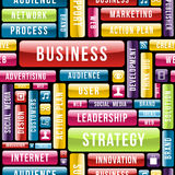 Business strategy concept pattern Stock Photo