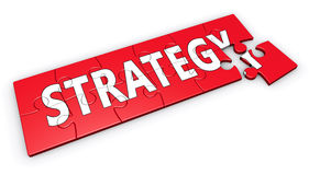 Business Strategy Concept Royalty Free Stock Photo