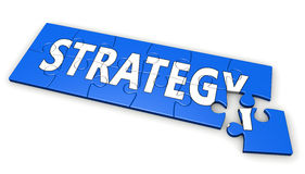 Business Strategy Development Concept Stock Photography
