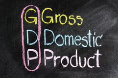 Business strategy GDP Stock Images