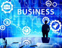 Business Strategy Growth Corporation Concept Stock Images
