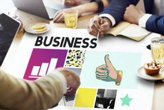 Business Strategy Growth Corporation Concept Stock Photos