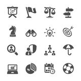 Business and strategy icon set 2,  eps10 Stock Photo