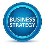 Business Strategy Eyeball Blue Round Button royalty free illustration