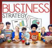 Business Strategy Marketing Operations Plan Development Concept Royalty Free Stock Photos