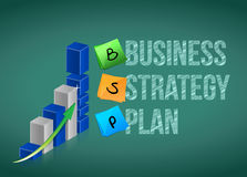 Business strategy plan Royalty Free Stock Images
