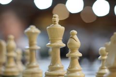 Chess Game of chess. Chess. White board with chess figures on it. Brain, strategy and success. Business strategy planning concept. Business strategy planning stock image