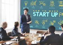Business Strategy Planning Corporation Solution Concept Stock Images
