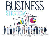 Business Strategy Planning Goal Achievement Concept Stock Photography