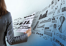 Business strategy Stock Image