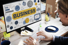 Business Strategy Startup Success Growth Company Concept Royalty Free Stock Photography