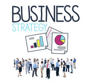 Business Strategy Success Goals Growth Concept.  stock photography