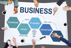 Business Strategy Vision Planning Concept Stock Image