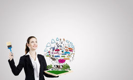 Business strategy Royalty Free Stock Image