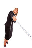 Business strength Royalty Free Stock Photo