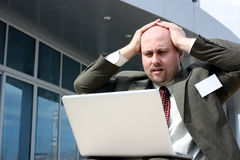 Business stress Royalty Free Stock Image