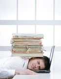 Business stress Royalty Free Stock Photos