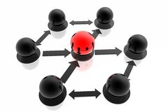 Business structure Stock Images