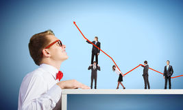 Business structure Stock Image