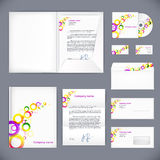 Business style. Corporate identity template Royalty Free Stock Images