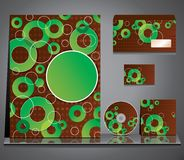 Business style. Abstract background. Set. Stock Photography
