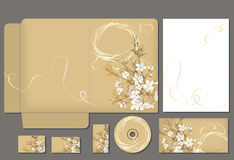 Business style template. Please scale vector to artboard after open vector illustration