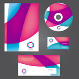 Business style templates. Royalty Free Stock Photography